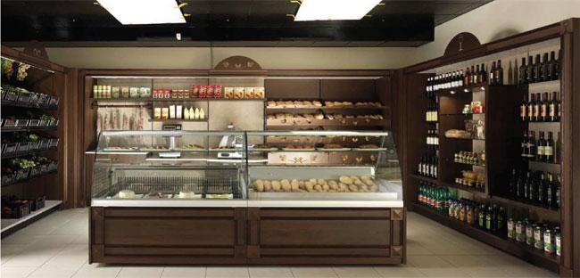 Arredamenti negozi gastronomia negozi di alimentari for Arredamento gastronomia