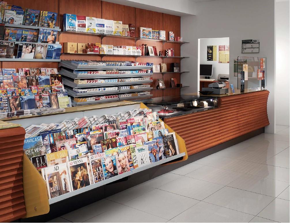 Edicola for Centro arredo negozi