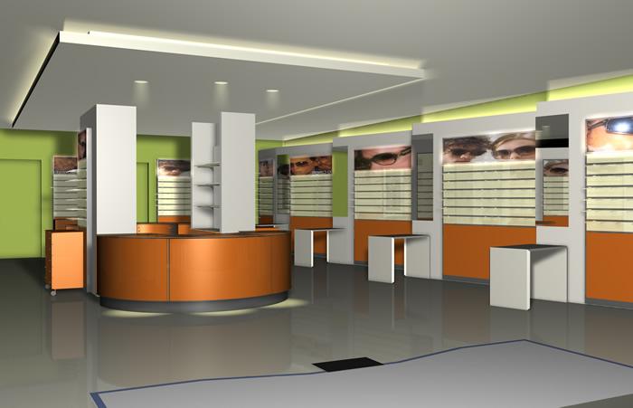 Negozi di abbigliamento realizzazioni arredamenti negozi di ottica