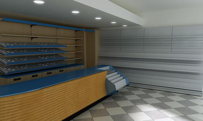 Arredamenti tabaccherie scaffalature negozi arredo for Fc arredamenti